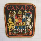 Canada shield Vintage rubber patch very rare countries collection