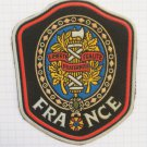 France shield Vintage rubber patch very rare countries collection