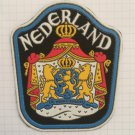 Nederland shield Vintage rubber patch very rare countries collection