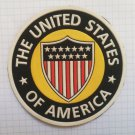 America United States USA Vintage rubber patch rare