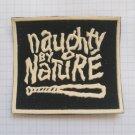 Naughty by nature Vintage rubber patch rare hip hop