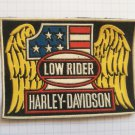 Harley Davidson Motorcycles - Low rider Vintage rubber patch very rare