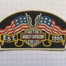 Harley Davidson Motorcycles - Est. 1903 Vintage rubber patch very rare