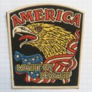 America Love it or leave it United States USA Vintage rubber patch rare