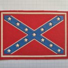 Confederate flag Vintage rubber patch very rare