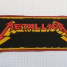 Metallica logo Vintage rubber patch very rare thrash metal