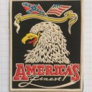 America's finest United States USA Vintage rubber patch rare