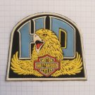 Harley Davidson Motorcycles HD Vintage rubber patch very rare