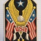 America USA United States Vintage rubber patch