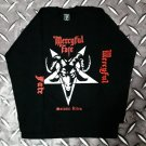 MERCYFUL FATE - Satanic rites Long sleeve shirt Black (L) NEW heavy thrash death metal