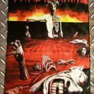 VITAL REMAINS - Let us pray FLAG Heavy death metal cloth poster