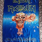 IRON MAIDEN - Can i play with madness FLAG Heavy death black metal cloth poster