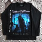 CHILDREN OF BODOM - Follow the reaper Long sleeve shirt Black (S) NEW heavy thrash death metal
