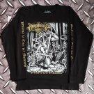 MORBOSIDAD - Profana la cruz del Nazareno Long sleeve shirt Black (L) NEW heavy thrash death metal