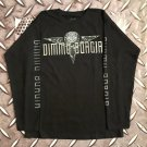 DIMMU BORGIR - Logo Long sleeve shirt Black (L) NEW heavy thrash death metal