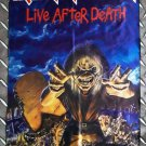 IRON MAIDEN - Live after death FLAG Heavy death black metal cloth poster