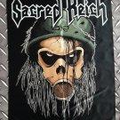 SACRED REICH - Violent solutions FLAG Heavy death black metal cloth poster
