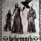 BEHEMOTH FLAG Heavy death black metal cloth poster
