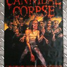 CANNIBAL CORPSE - Global evisceration FLAG Heavy death black metal cloth poster