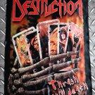 DESTRUCTION - Thrash till death FLAG Heavy death black metal cloth poster