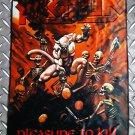 KREATOR - Pleasure to kill FLAG Heavy death black metal cloth poster