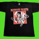 Napalm Death - Nazi punks fuck off T-shirt Black (L) NEW heavy thrash death metal
