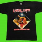 Cannibal Corpse - Hammer smashed face T-shirt Black (L) NEW heavy thrash death metal