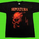 Sepultura - Beneath the remains T-shirt Black (L) NEW heavy thrash death metal