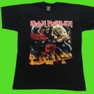 Iron Maiden - The number of the beast T-shirt Black (L) NEW heavy thrash death metal
