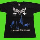 Mayhem - De mysteriis dom sathanas T-shirt (S) NEW heavy thrash death metal