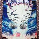 BENEDICTION - Dark is the season FLAG Heavy death black metal cloth poster