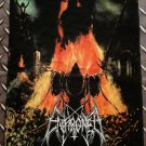 ENTHRONED - Prophecies of pagan fire FLAG Heavy death black metal cloth poster