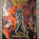 MALEVOLENT CREATION - The ten commandments FLAG Heavy death black metal cloth poster