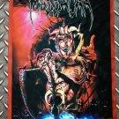 MASSACRA - Enjoy the violence FLAG Heavy death thrash metal cloth poster