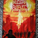 NUCLEAR ASSAULT - Game over FLAG Heavy death thrash metal cloth poster