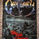 OBITUARY - The end complete FLAG Heavy death thrash metal cloth poster