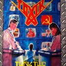 TOXIK - Think this FLAG Heavy death thrash metal cloth poster