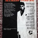 Scarface FLAG Film movie cloth poster Al Pacino