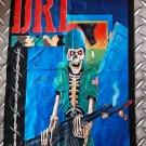 D.R.I. - D.R.I. FLAG Heavy death thrash metal cloth poster