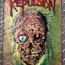REPULSION - Horrified FLAG Heavy death thrash metal cloth poster