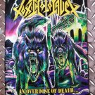 TOXIC HOLOCAUST - An overdose of death FLAG Heavy death thrash metal cloth poster