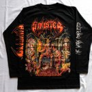 SINISTER - The carnage ending Long sleeve shirt Black (L) NEW Death Metal