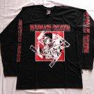 NAPALM DEATH - Nazi punks fuck off Long sleeve shirt Black (L) NEW Death Metal