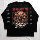 SLAYER - The final world tour Long sleeve shirt Black (L) NEW Thrash Metal