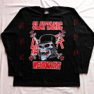 SLAYER - Slaytanic Wehrmacht Long sleeve shirt Black (L) NEW Thrash Metal