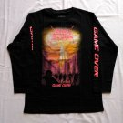 NUCLEAR ASSAULT - Game over Long sleeve shirt Black (S) NEW Thrash Metal