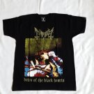 MAYHEM - Dawn of the black hearts T-shirt NEW Black (S) black metal Euronymous Varg Vikernes
