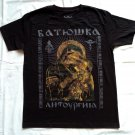 BATUSHKA - Litourgiya T-shirt NEW Black (S) Death Black Metal Euronymous Varg Vikernes