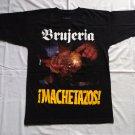 BRUJERIA - Machetazos T-shirt NEW Black (S) Death Metal Mexican metal