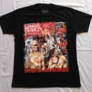 NAPALM DEATH - Utopia Banished T-shirt NEW Black (S) Death Metal Grindcore
